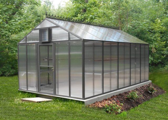 Прямоугольные теплицы с двухскатной крышей: правила постройки + лучшие проекты
