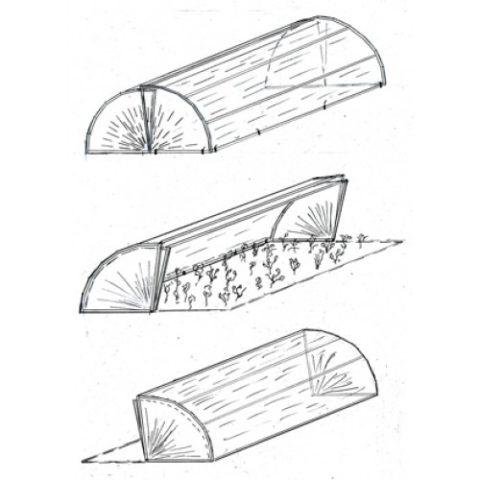 Парник-хлебница своими руками: лучшие проекты с фото + инструкция по сборке