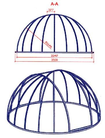 Купол над бассейном: зачем нужен, как сделать своими руками