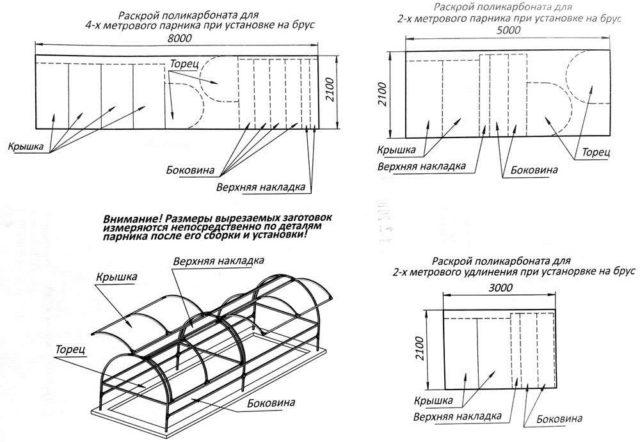 Теплица Бабочка из поликарбоната: компактная и удобная конструкция своими руками