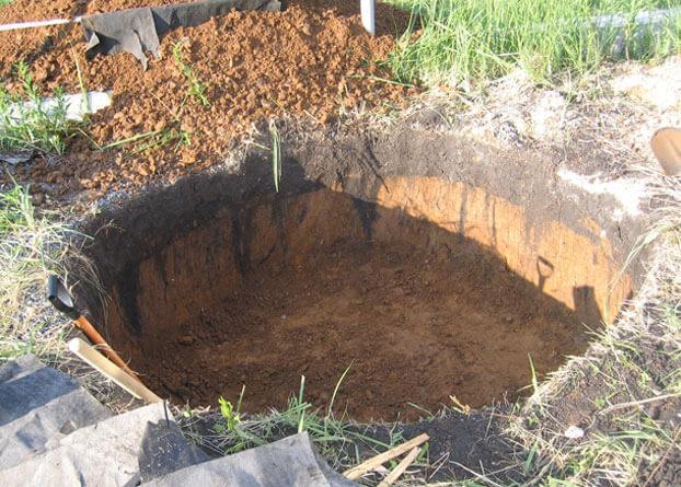 Бассейн из бетонного кольца своими руками: нестандартное решение для дачи