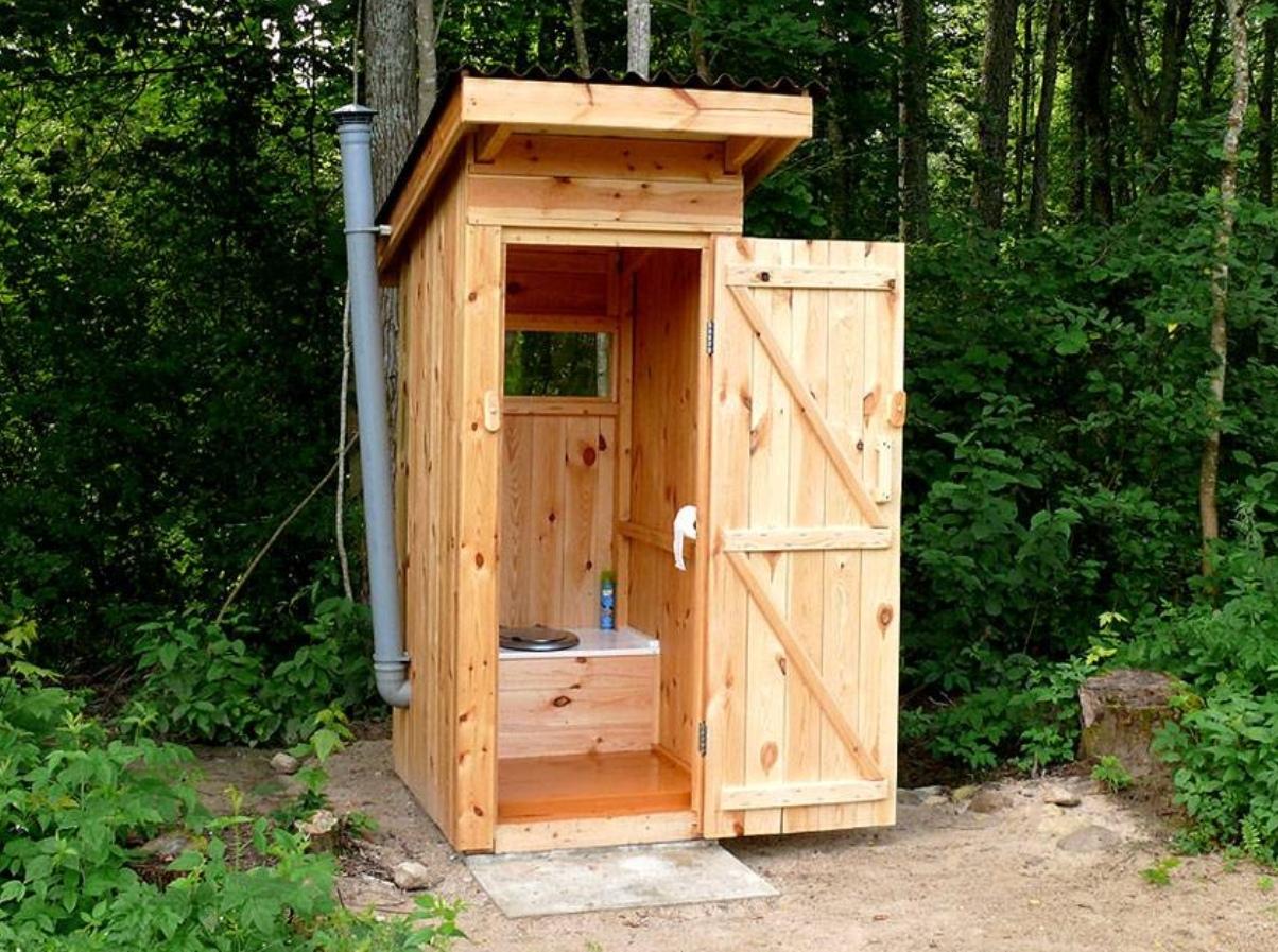 Современный туалет для дачи