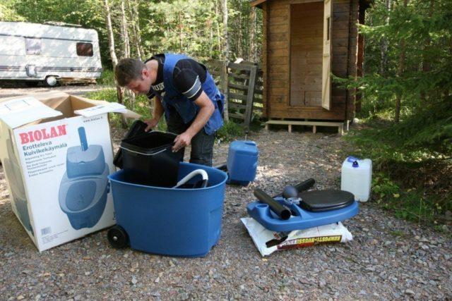 Торфяной туалет для дачи: какой лучше выбрать + отзывы дачников