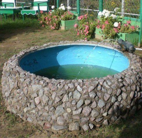 Бассейн: из чего можно сделать на даче, виды и способы создания из подручных материалов