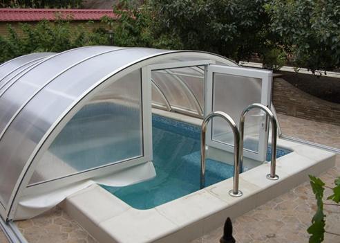 Раздвижные павильоны для бассейнов: как сделать своими руками + фото