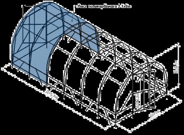 Навес для бассейна из поликарбоната: плюсы и минусы + пошаговое руководство по изготовлению своими руками