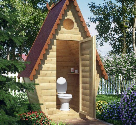 Как сделать туалет на даче своими руками: пошаговая инструкция + фото