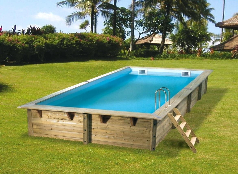Каркасный бассейн своими руками на даче