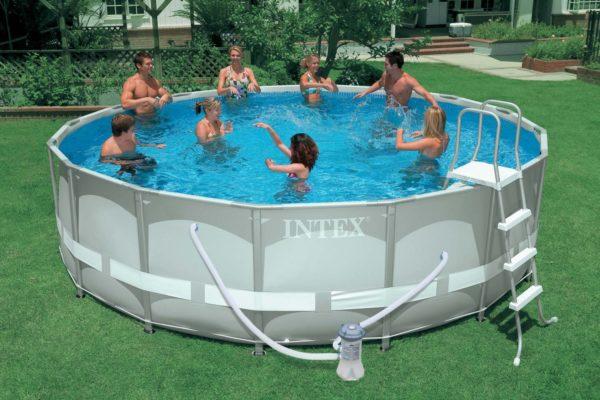 Каркас для бассейна своими руками: подробная инструкция по созданию   фото и видео