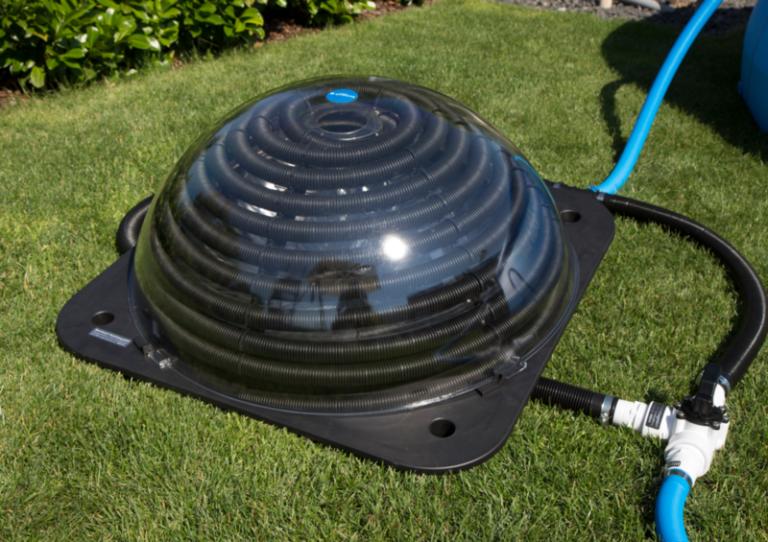 Подогрев воды в бассейне солнечным коллектором