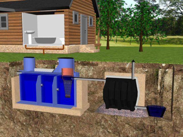 Туалет на даче с унитазом септиком: варианты + изготовление своими руками