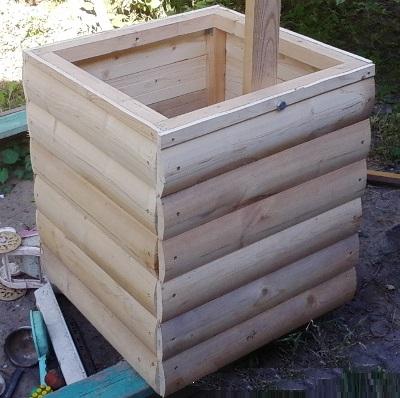 Декоративный колодец для сада своими руками: пошаговая инструкция   идеи оформления