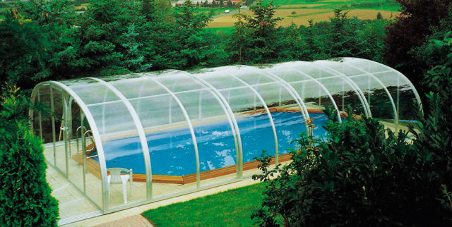 Бассейн в теплице из поликарбоната: фото, пошаговая инструкция + отзывы