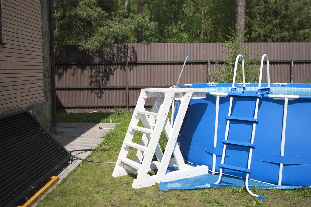 Как сделать лестницу для бассейна своими руками
