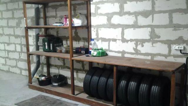 Какие полки и стеллажи в гараже наиболее удобны