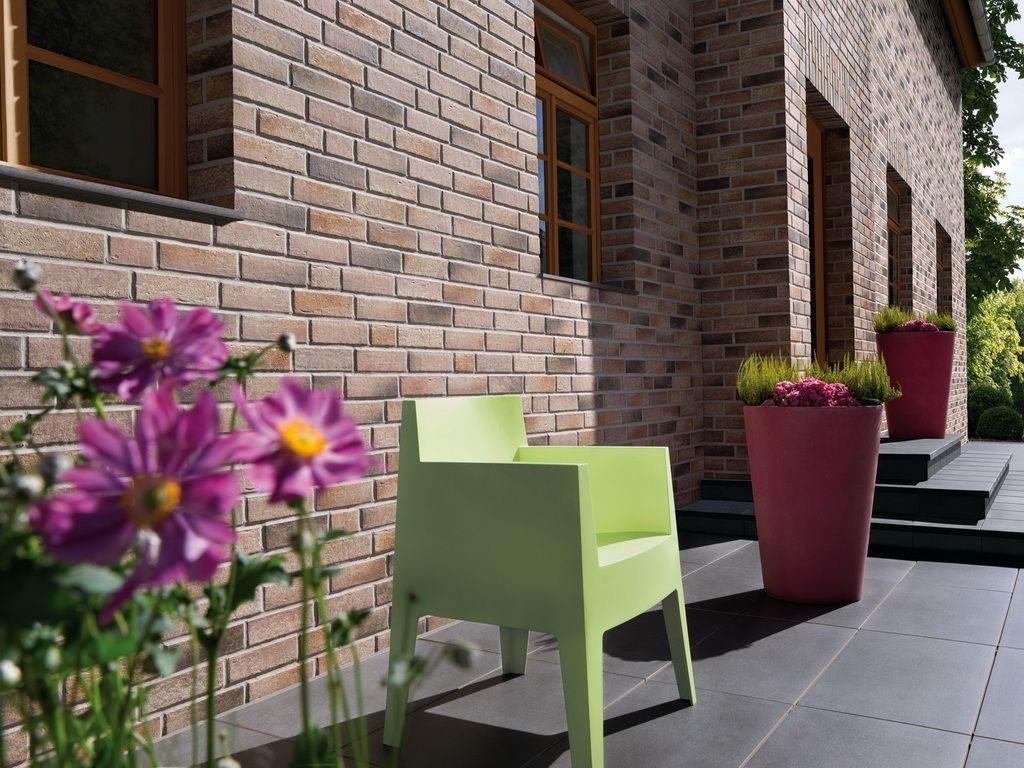 Фасадная плитка - легкий способ отделки стен здания