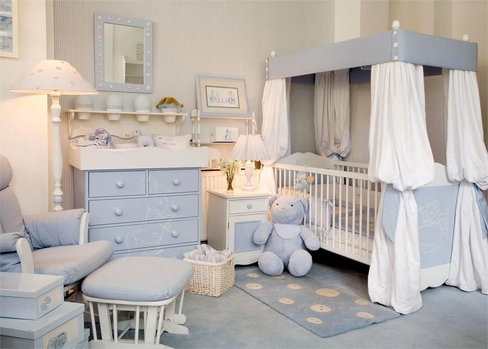 Как оформить комнату для новорожденного ребенка