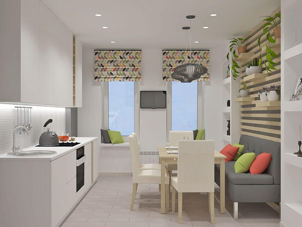 8 решений для маленькой кухни