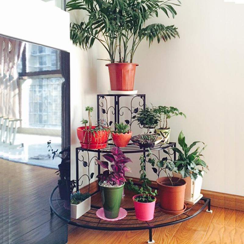 Подставки для цветов: виды, как расположить в помещении