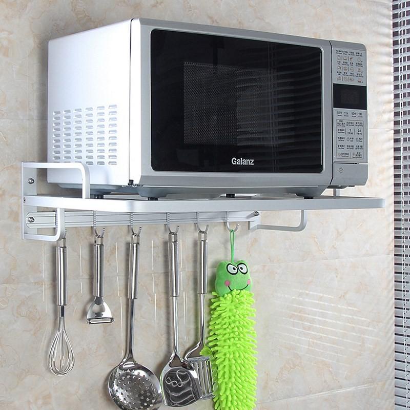 Что нужно для того, чтобы прикрепить микроволновку к стене