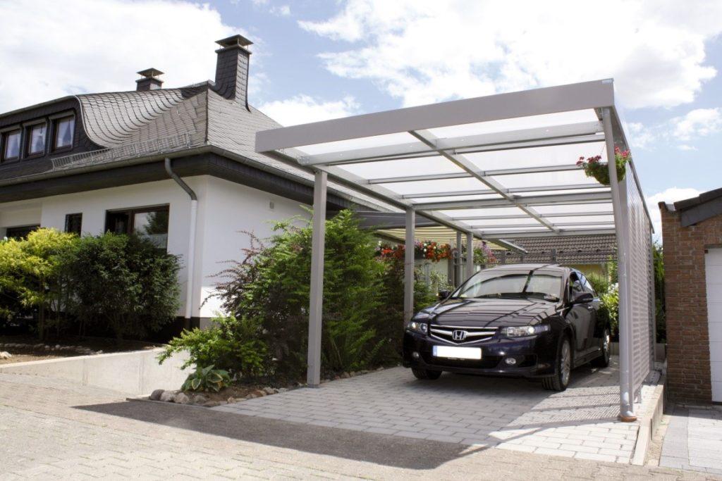 Как построить гараж из поликарбоната своим руками