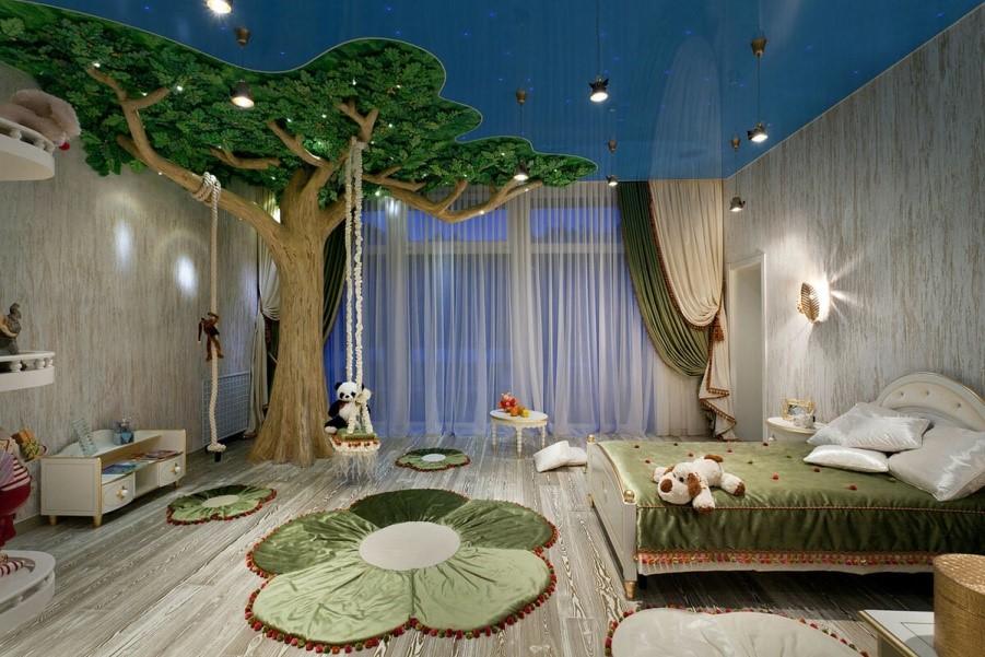 3 варианта обустройства детской комнаты