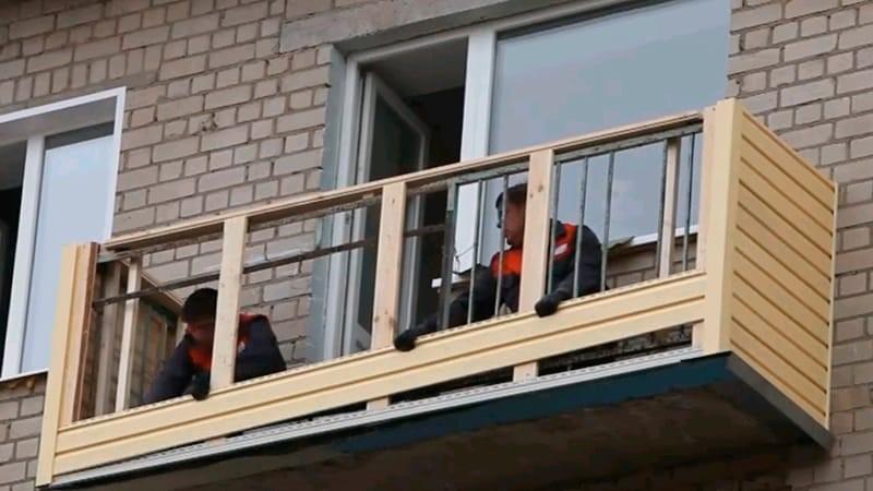 Как и чем отделать балкон снаружи: преимущества и правила безопасности