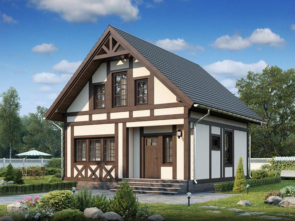 Что такое фахверковый стиль домов?