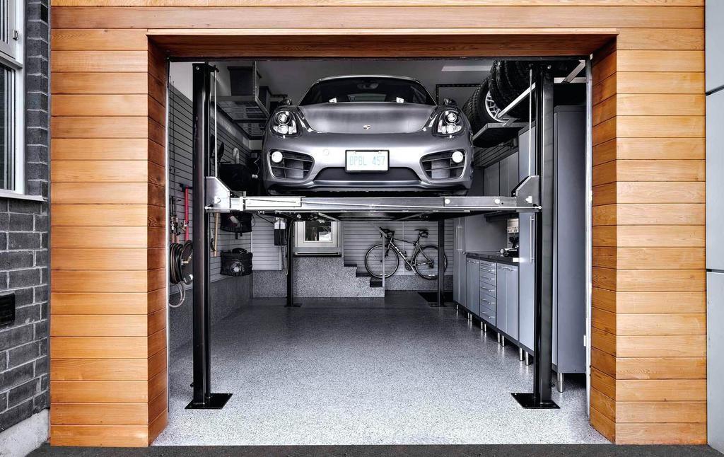 Прикольный ремонт гаража фото