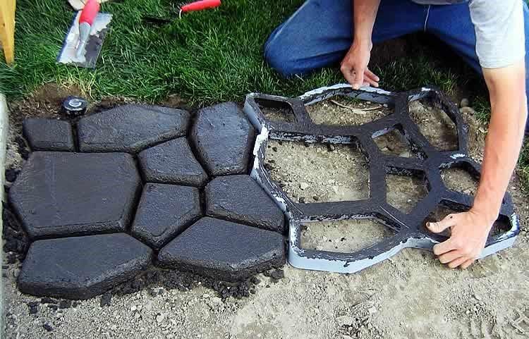 Формы для тротуарной плитки своими руками