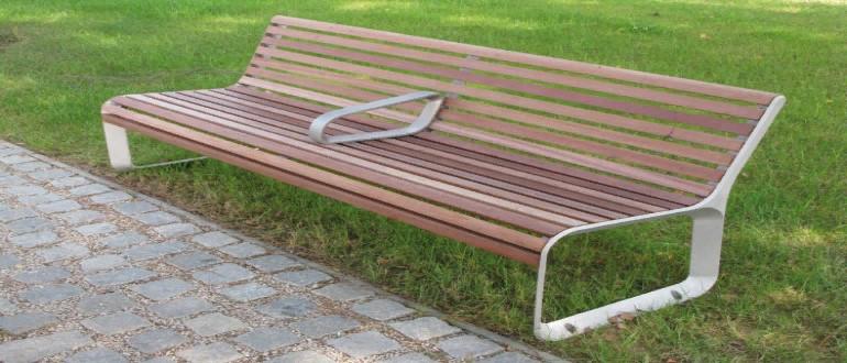 Как сделать скамейку из профильной трубы своими руками?