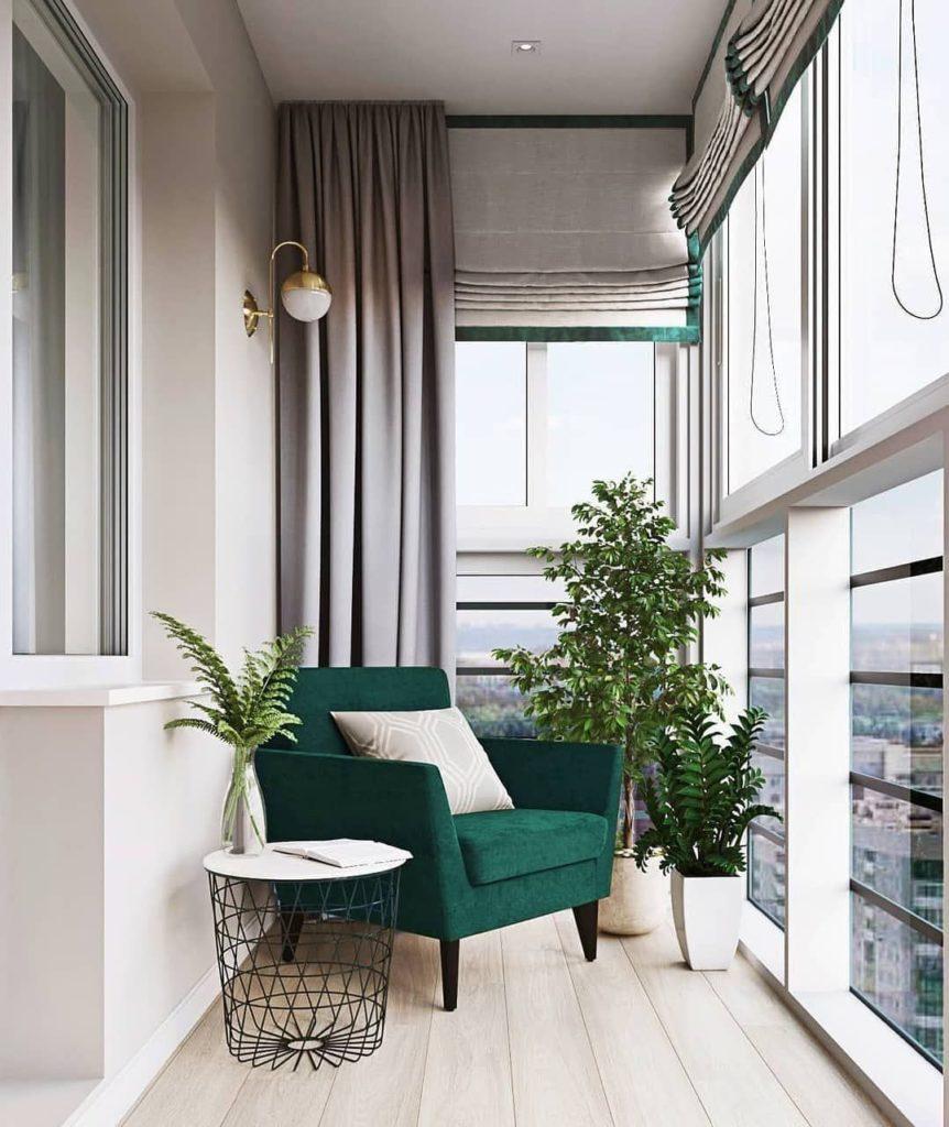 Как из балкона сделать дополнительную комнату?