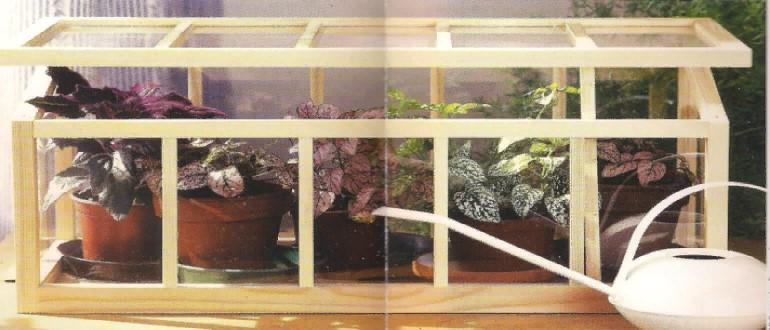Особенности обустройства парника на балконе