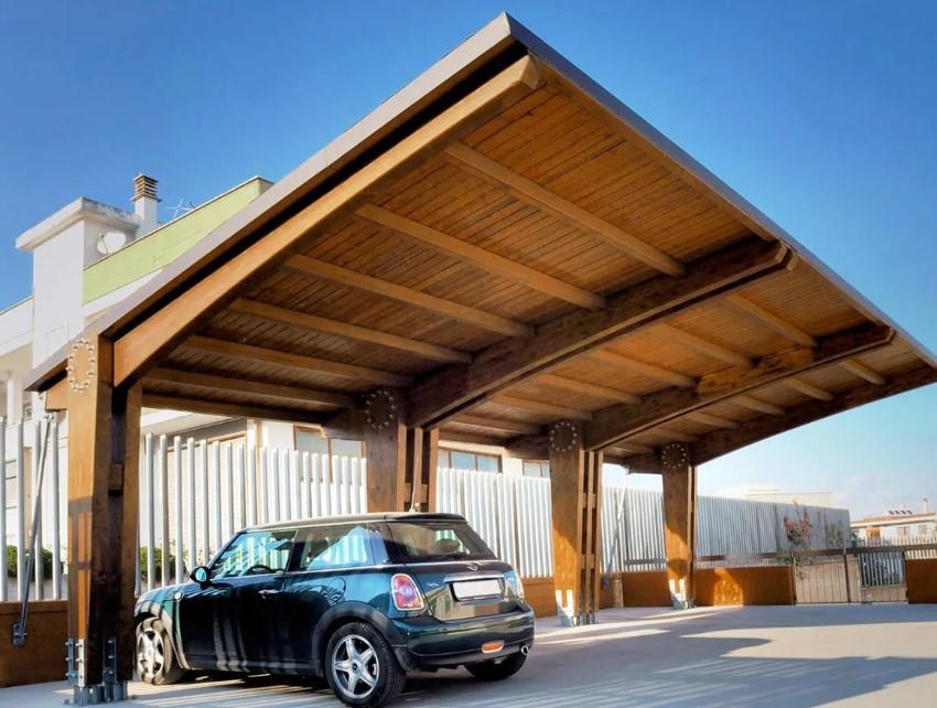 Гараж или навес: положительные и отрицательные стороны мест для автомобиля