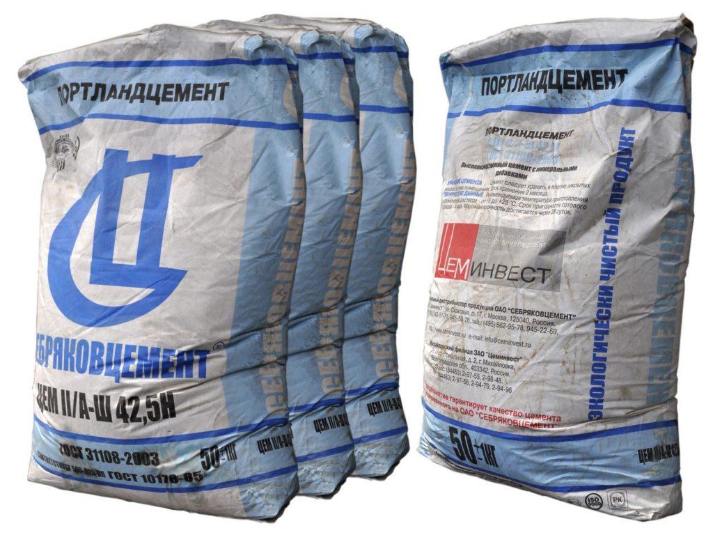Как хранить цемент зимой, чтобы он не потерял связующие свойства