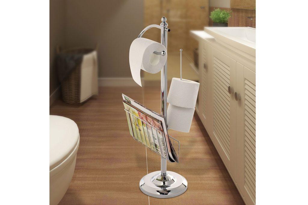 Выбор напольного держателя для туалетной бумаги