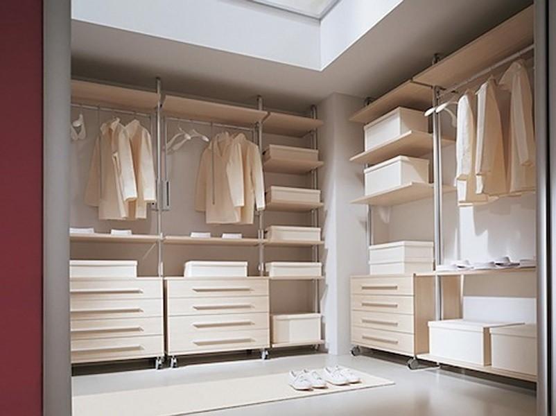 Какими бывают гардеробные в доме или квартире