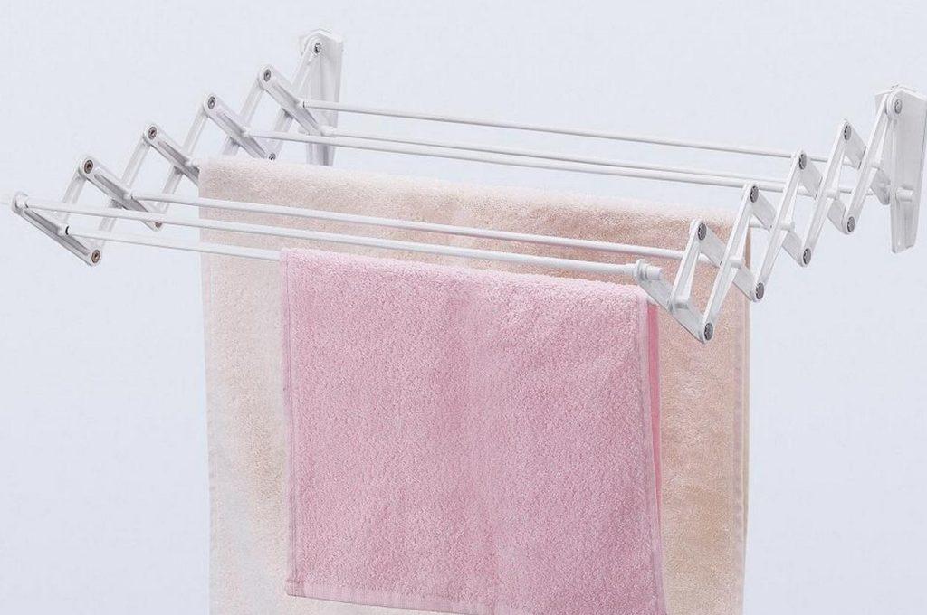 Сушка для белья в ванной комнате: выбор конструкции