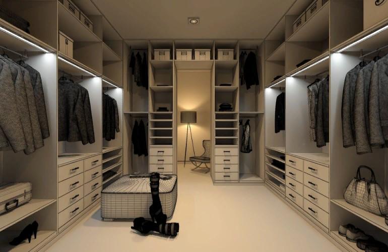 Особенности дизайна гардеробной