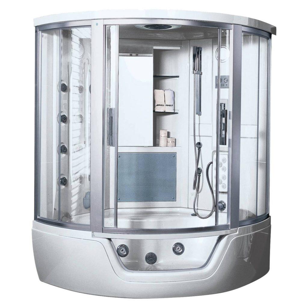 Разные варианты душевых кабин с поддоном: выбираем подходящий