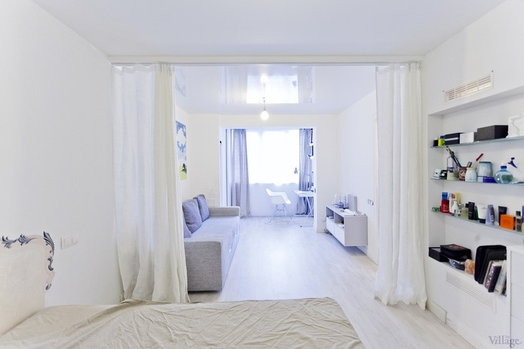 Разные способы зрительного расширения пространства комнаты