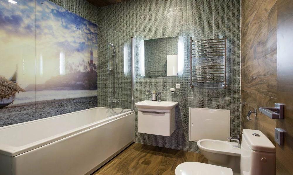 Выбор стеновых панелей для ванной комнаты