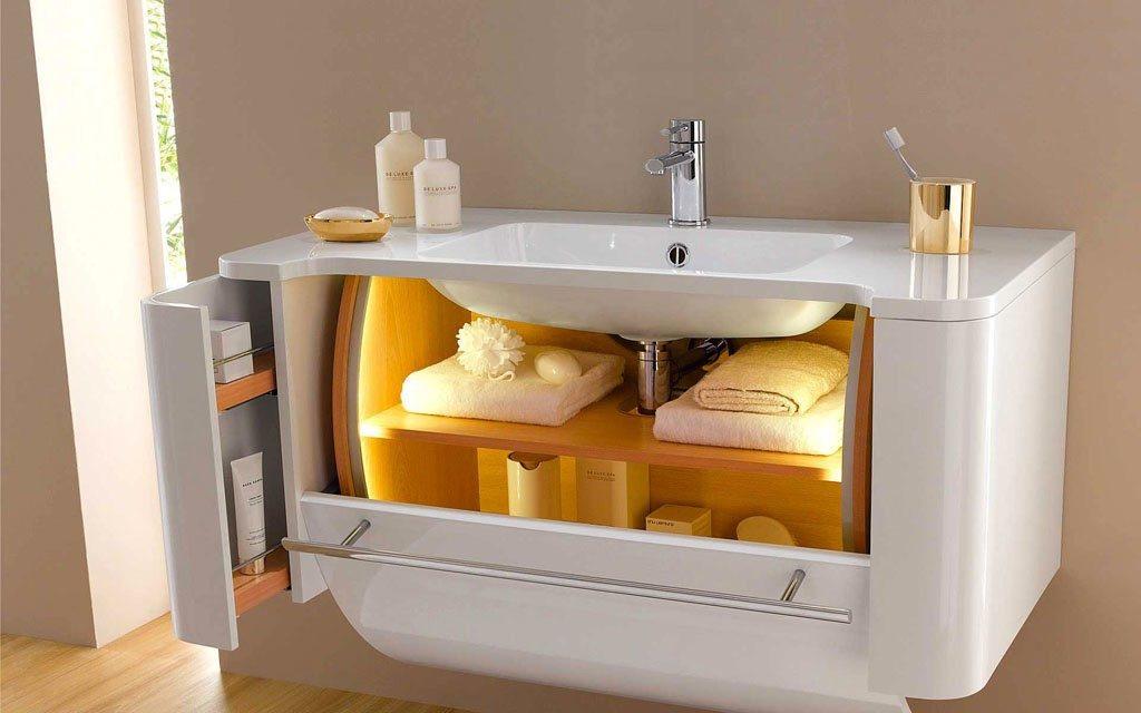 Критерии выбора тумбы для ванной комнаты