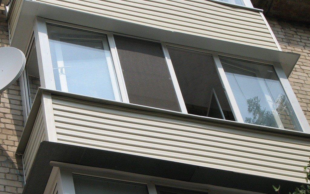 Отделка балкона снаружи и внутри