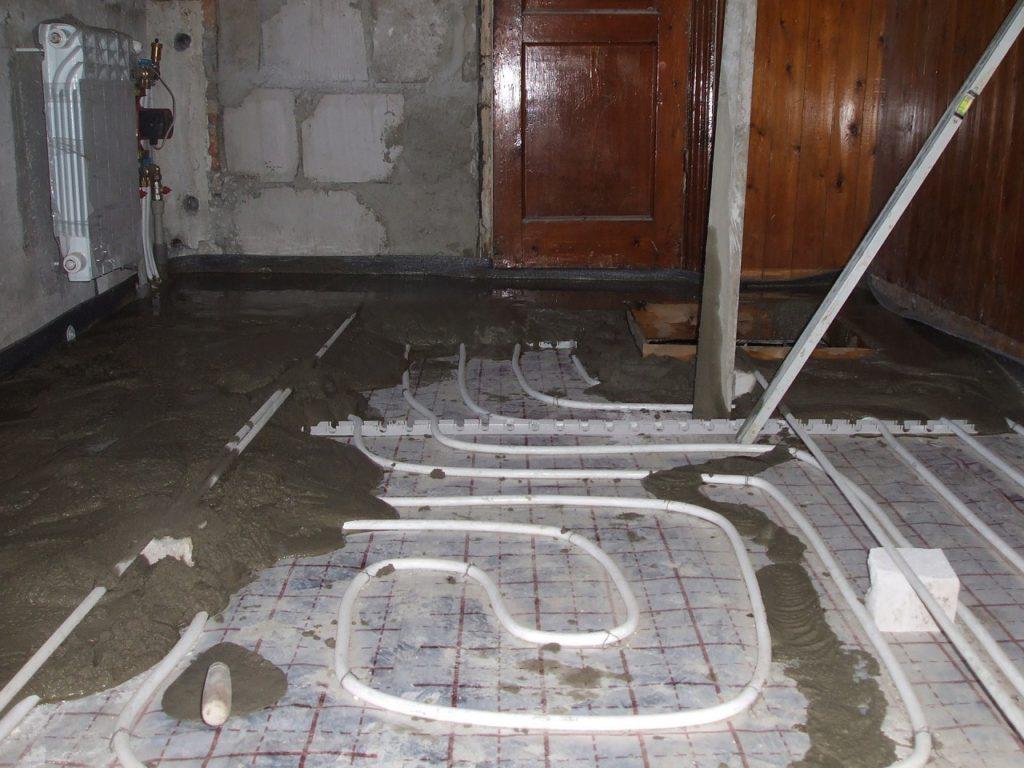Отопление квартиры системами тёплого пола