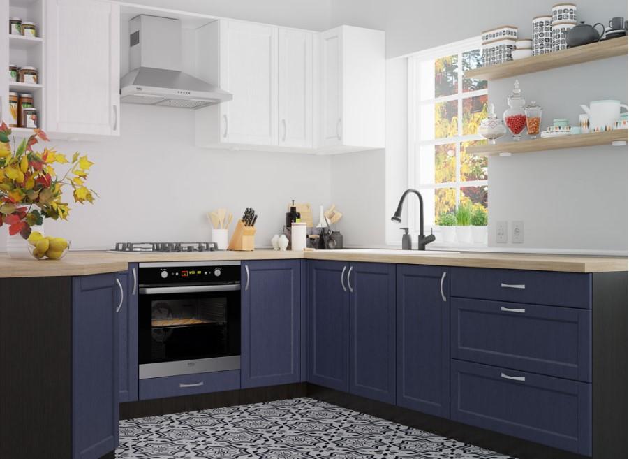 Как и чем можно украсить кухонный фасад