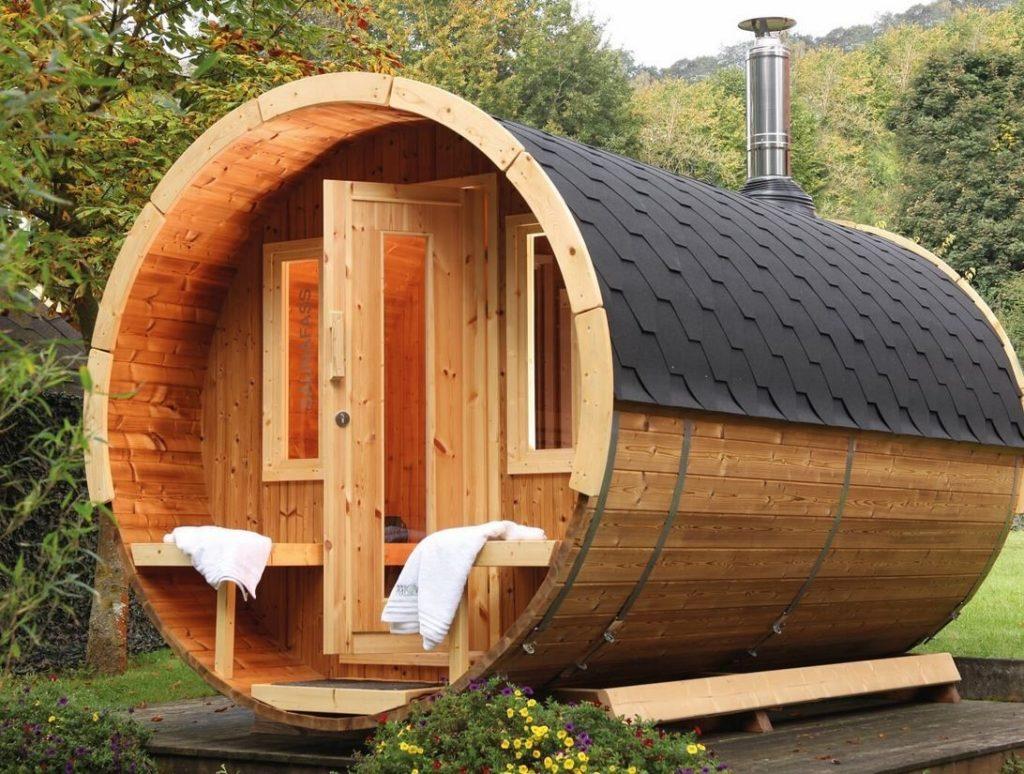 Выбор места для строительства бани на дачном участке