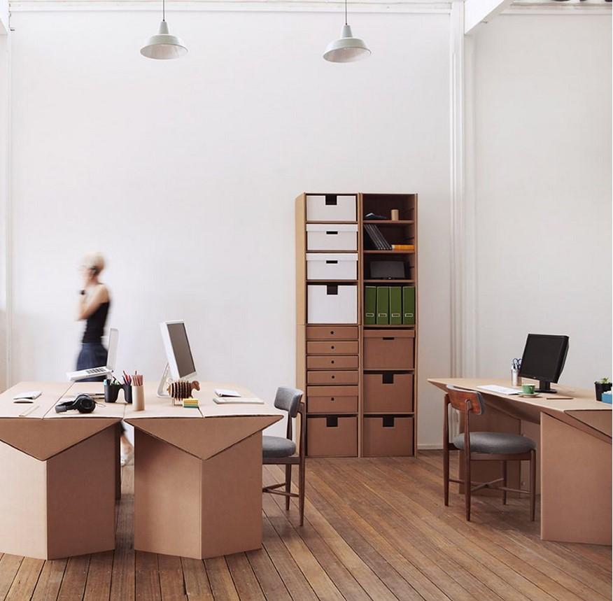 Методы изготовления мебели из картона