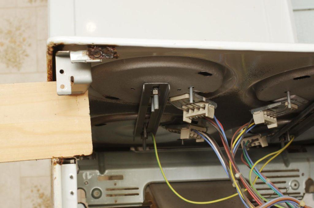 Как поменять конфорки на электроплите