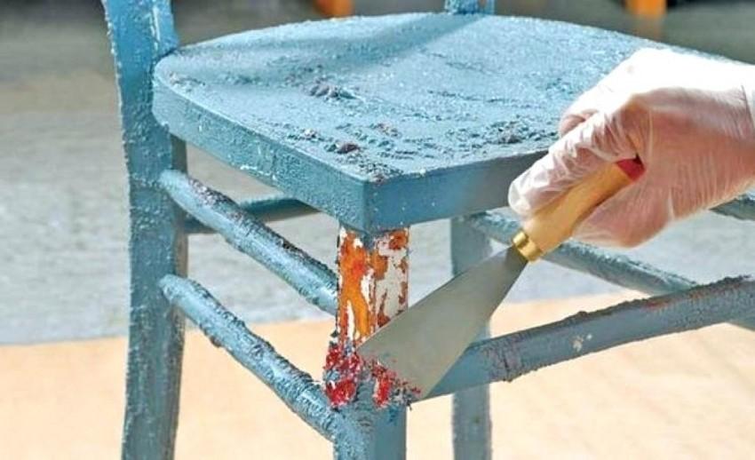 Разные способы придать состаренный внешний вид стульям